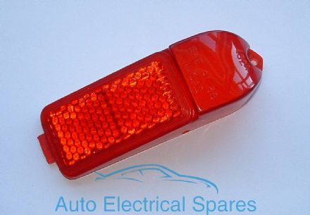 Lucas L824 side marker light lens RED GENUINE